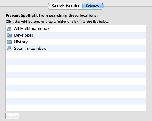 Spotlight Privacy Filter